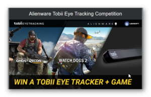 Alienware Tobii Eye Tracking Competition