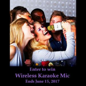 Win a Wireless Karaoke Microphone