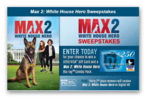 Max2 White House Hero Sweeps #Max2 Win $250 Visa Gift Card