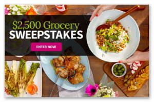 $2,500 Grocery Sweepstakes