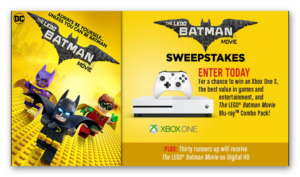 The LEGO Batman Movie Sweepstakes
