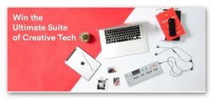 Win the Ultimate Suite of Creative Tech Sweepstakes