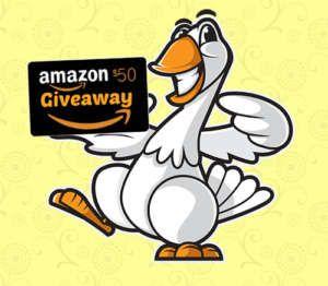 Golden Goose Amazon Gift Card Sweepstakes