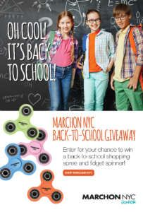 Marchon NYC Back to School Giveaway