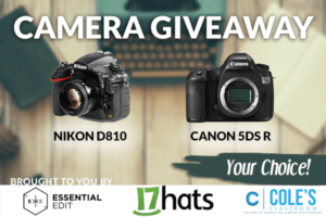 WIN YOUR CHOICE: Nikon D810 OR Canon 5DS R