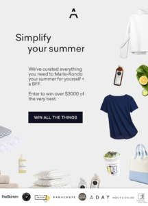 Simplify your Summer Giftaway