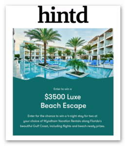 Win a $3500 Luxe Beach Escape