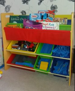 Win a Toy Storage Unit with Book Shelf