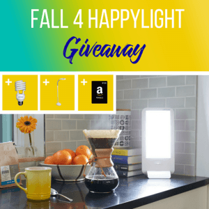 Verilux – Fall 4 HappyLight Giveaway