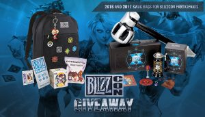Blizz Con Swag Bag Giveaway