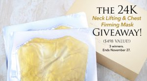 Orogold 24K Firming Mask Giveaway