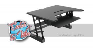Win a new Table Top Sit to Stand Desk Riser