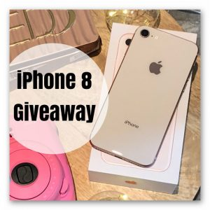 Rose Gold 64GB iPhone 8 Giveaway