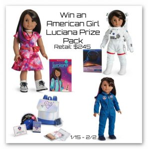Win an American Girl Luciana Prize Pack