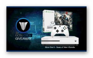 Win a Xbox One S Gears Of War 4 Bundle Giveaway