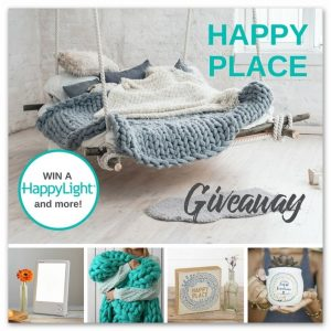 Verilux Happy Place Giveaway