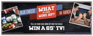 Win a 65″ TV Litehouse Foods Sweepstakes
