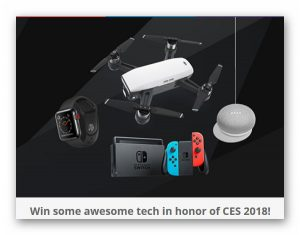 Digital Trends Awesome Tech Giveaway