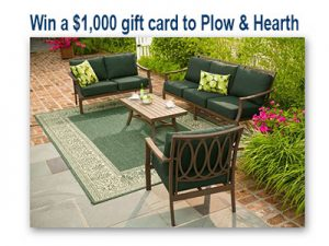 Bob Vila S 3 000 Outdoor Living Giveaway 3 Winners Ends March