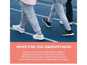 Easy Spirit Move for You Sweepstakes