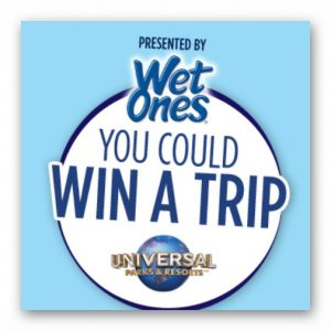 Wet Ones Ultimate Summer Vacation Sweepstakes