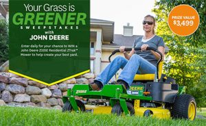 Your Grass is Greener Sweepstakes