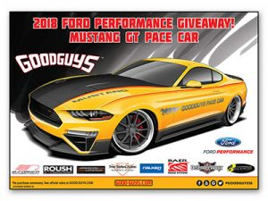 Win a 2018 Ford Performance Mustang
