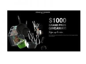 Cole & Mason Kitchen Overhaul Giveaway