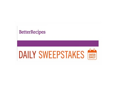 Better Recipes Daily Ongoing Contests and Sweepstakes
