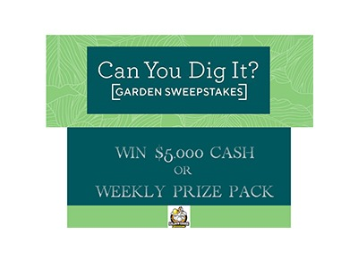 QVC Can You Dig It Sweepstakes