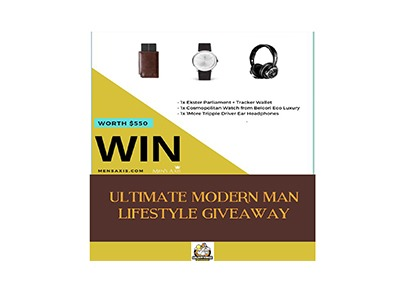 Ultimate Modern Man Lifestyle Giveaway