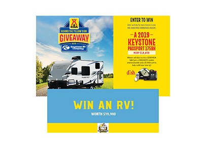 Win a 2019 Keystone Passport RV