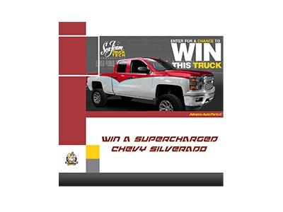 Win a Supercharged Chevy Silverado