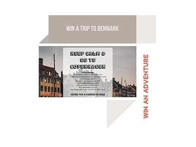 Win a trip to Denmark