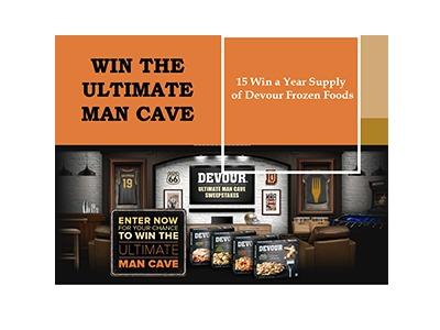 Win the Ultimate Man Cave