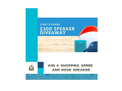 Win a Bose Speaker and Shopping Spree