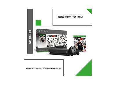 FaucTV's Xbox One X giveaway