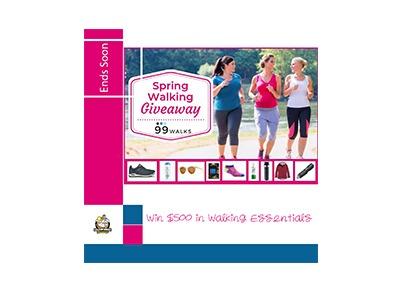 Win $500 in Walking Essentials