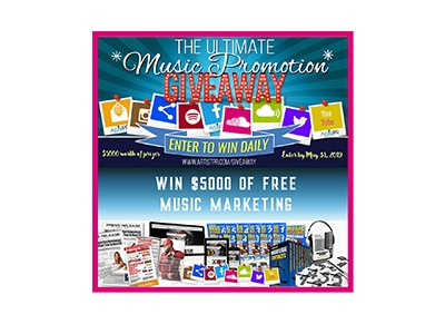Ultimate Music Promotion Giveaway