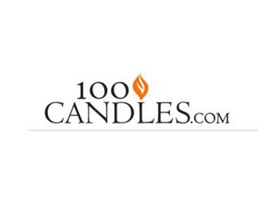 Win Free Candles from 100 candles.com