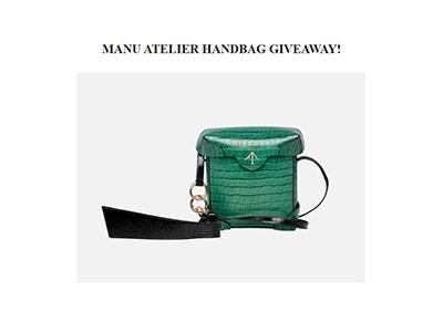Win a Manu Atelier Handbag