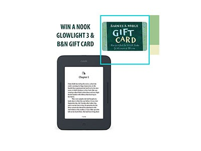 Win a Nook Glowlight 3 & Gift Card