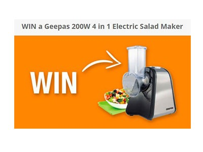 Win an Electric Salad Maker