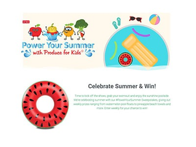 Power your Summer Sweepstakes