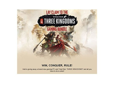 Intel Three Kingdoms Gaming Bundle Giveaway