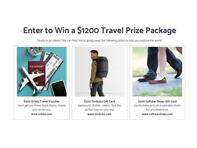 Softstar Shoes Travel Giveaway