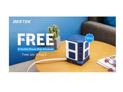 BESTEK Power Strip Giveaway