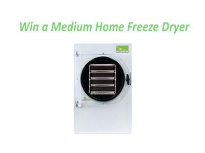 HarvestRight Home Freeze Dryer Giveaway