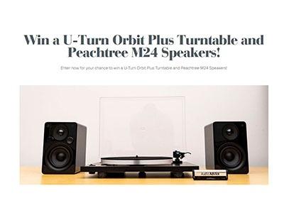 U-Turn Orbit Turntable and Speakers Giveaway