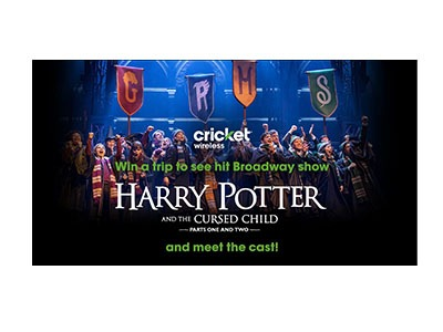 Win a VIP Trip to Harry Potter on Broadway
